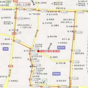 域:韶山北路城南路路口至