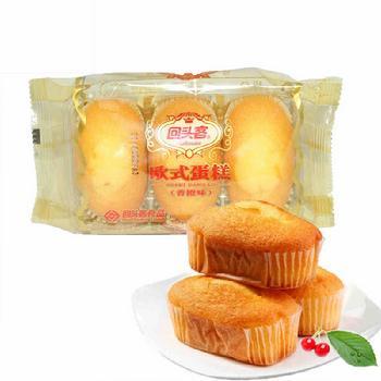 回头客84g欧式蛋糕(香橙味)(星)-回头客欧式蛋糕84g